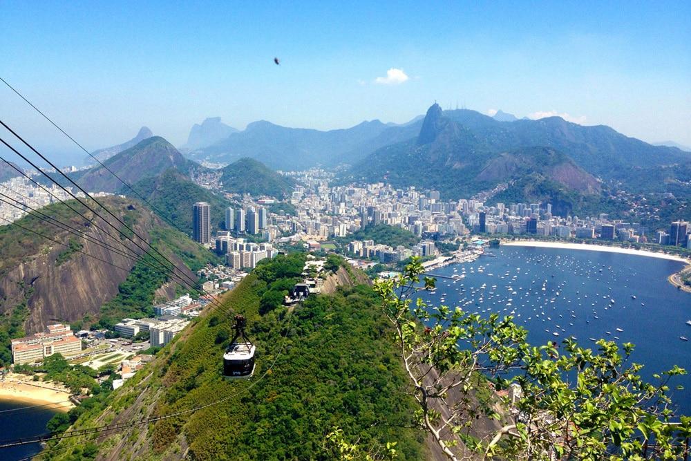 THE HARBOR OF RIO DE JANEIRO