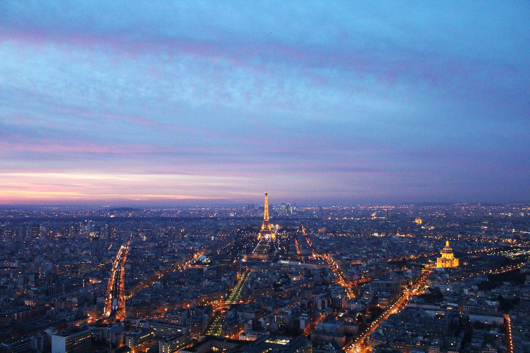 best views in Paris tour montparnasse