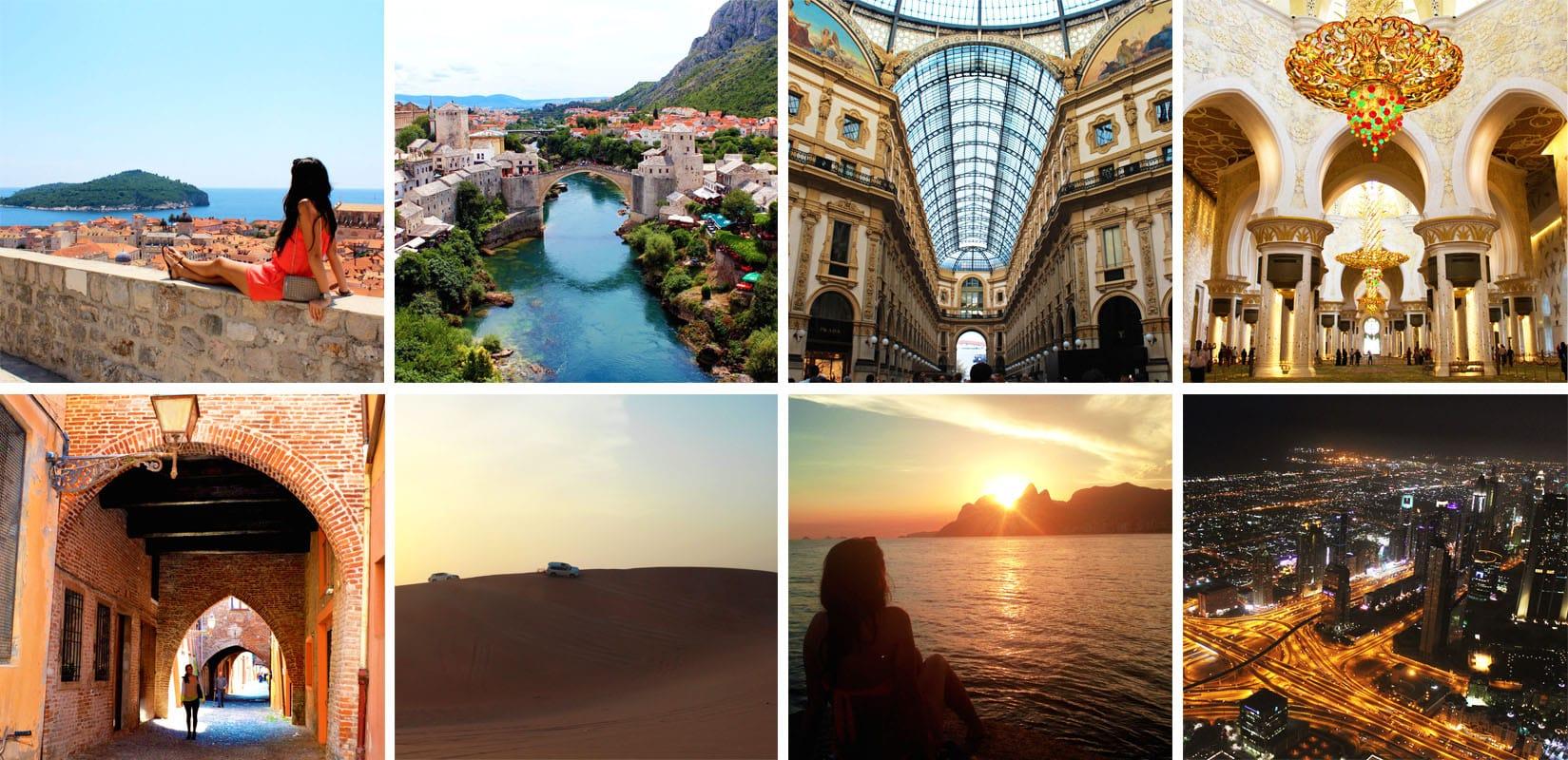 best travel memories