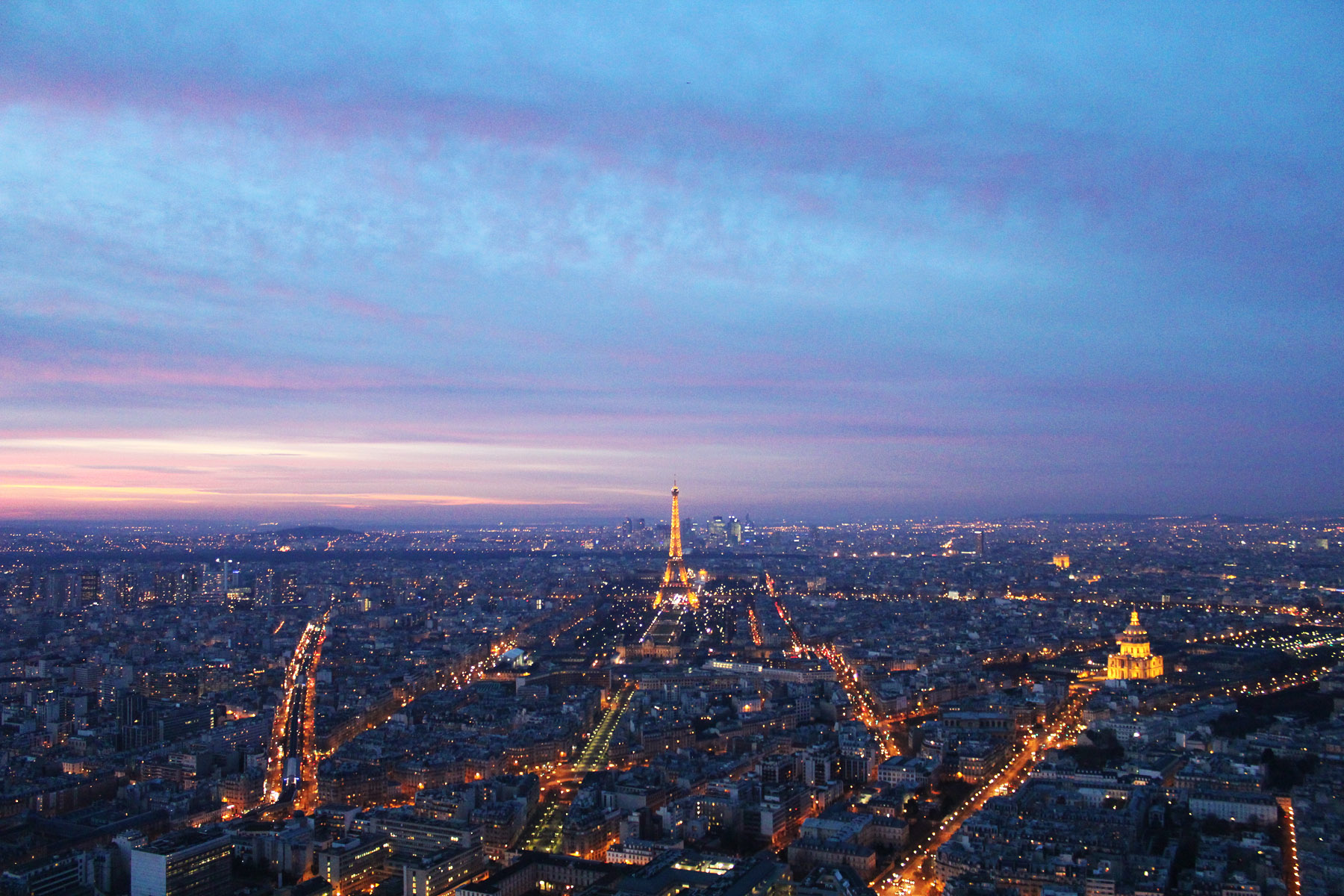 best views in Paris tour montparnasse