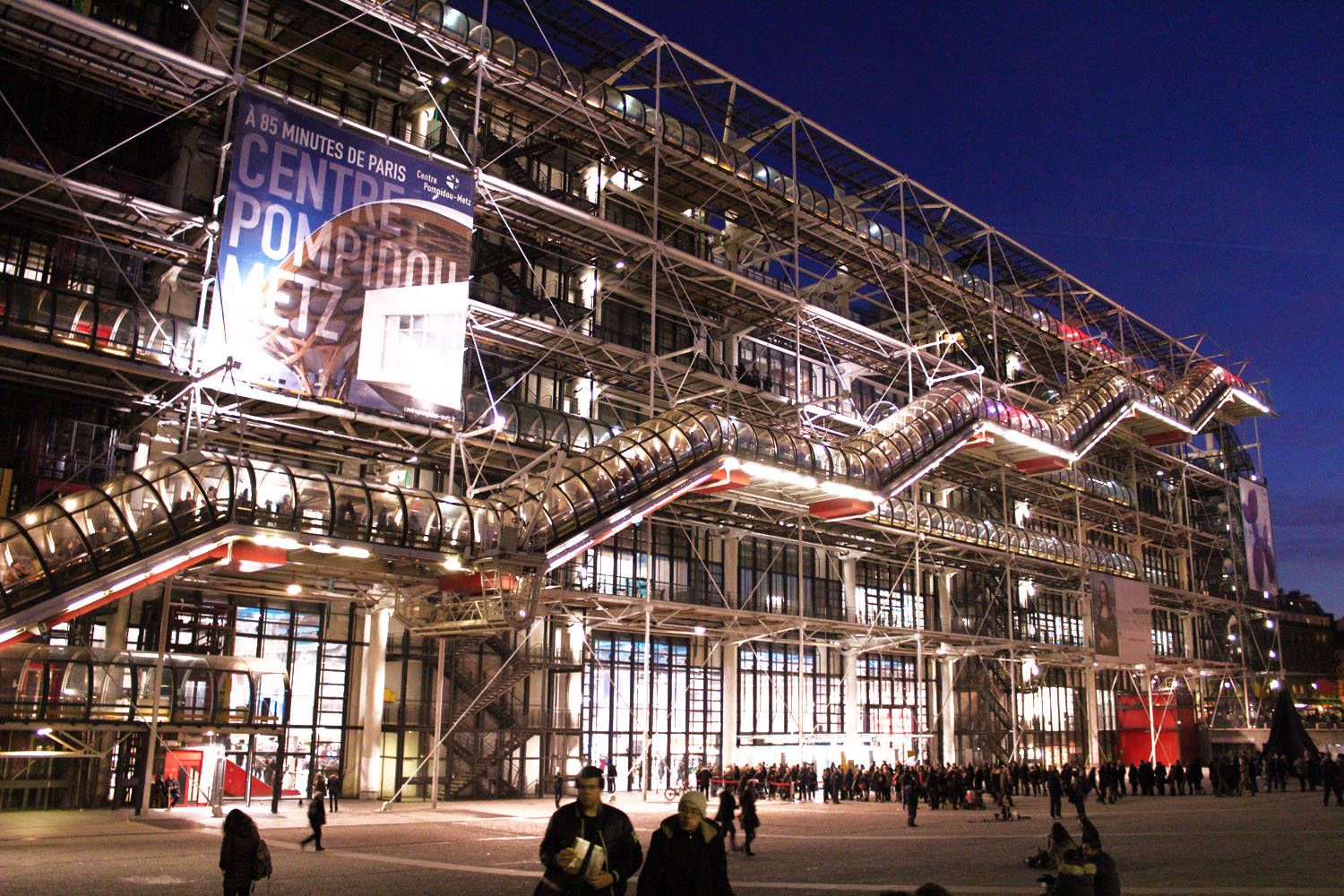 must-see museums in paris centre pompidou