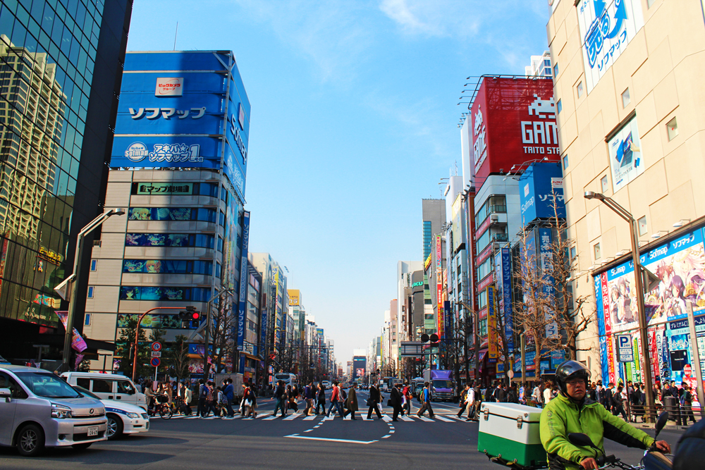 A BEGINNER'S GUIDE TO TOKYO'S POPULAR DISTRICTS