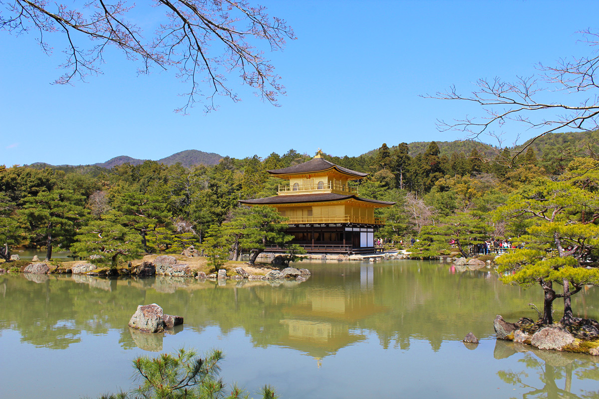Kyoto in one day golden pavillion