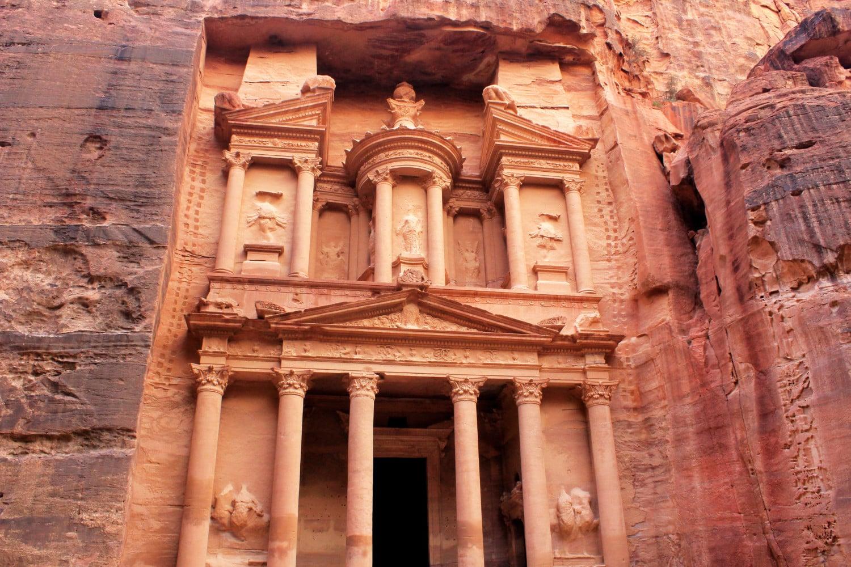 Petra-Day-Trip-Lost-City Treasury Facade