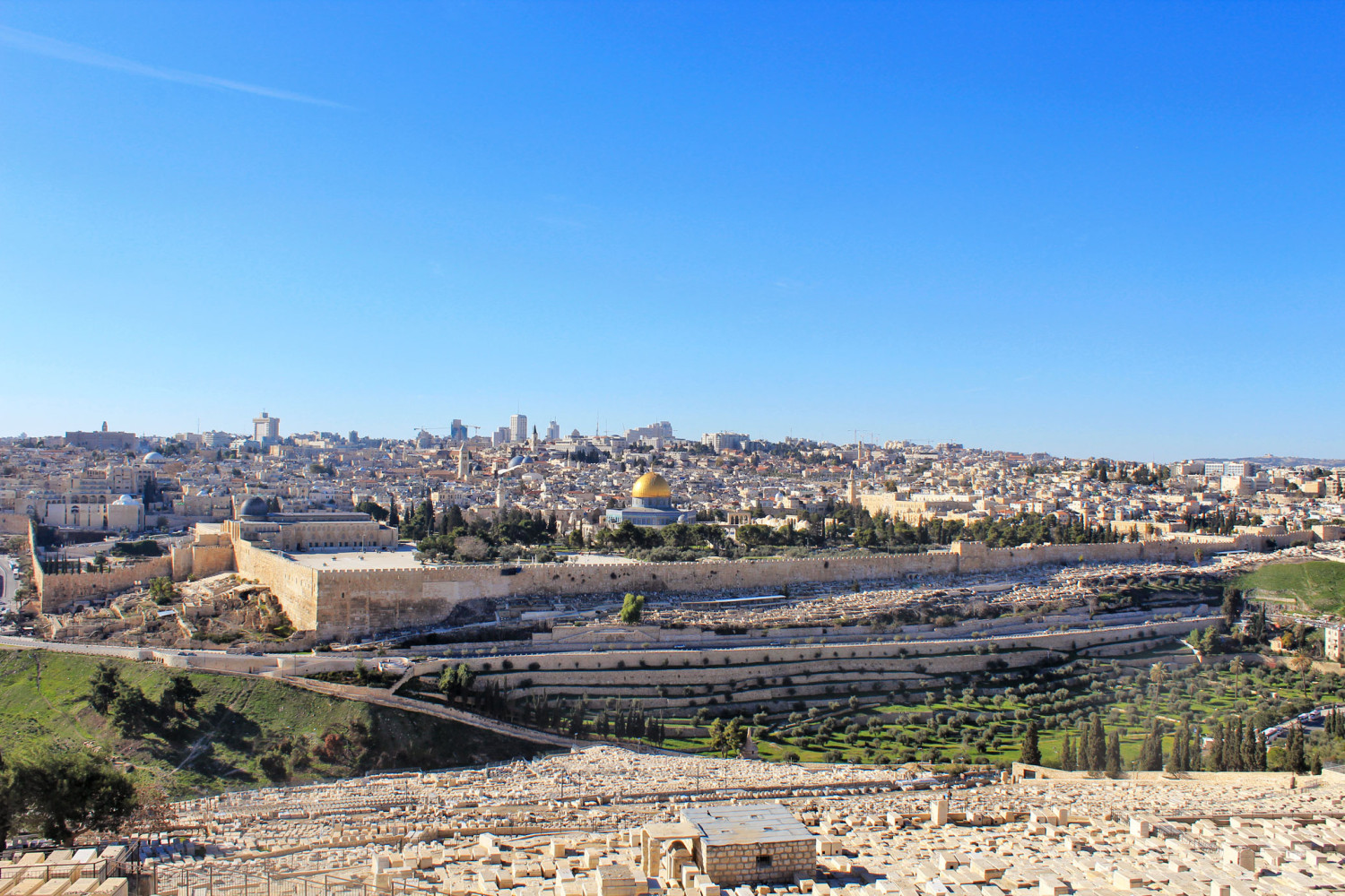 Jerusalem things to do mount of olives