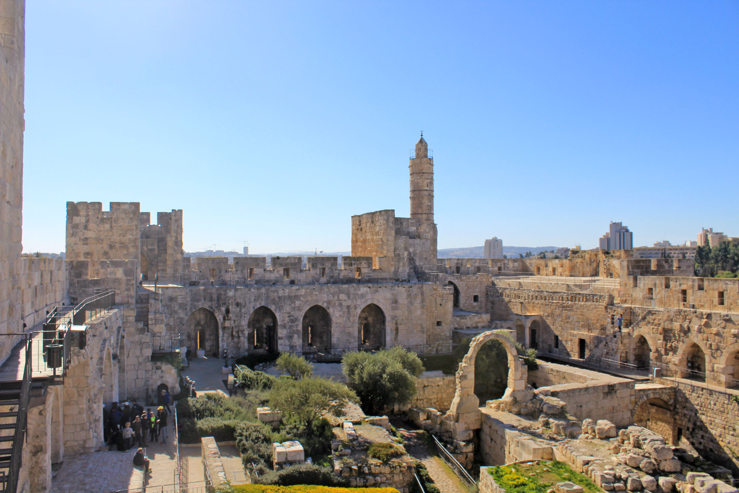 Jerusalem things to do see tower of david