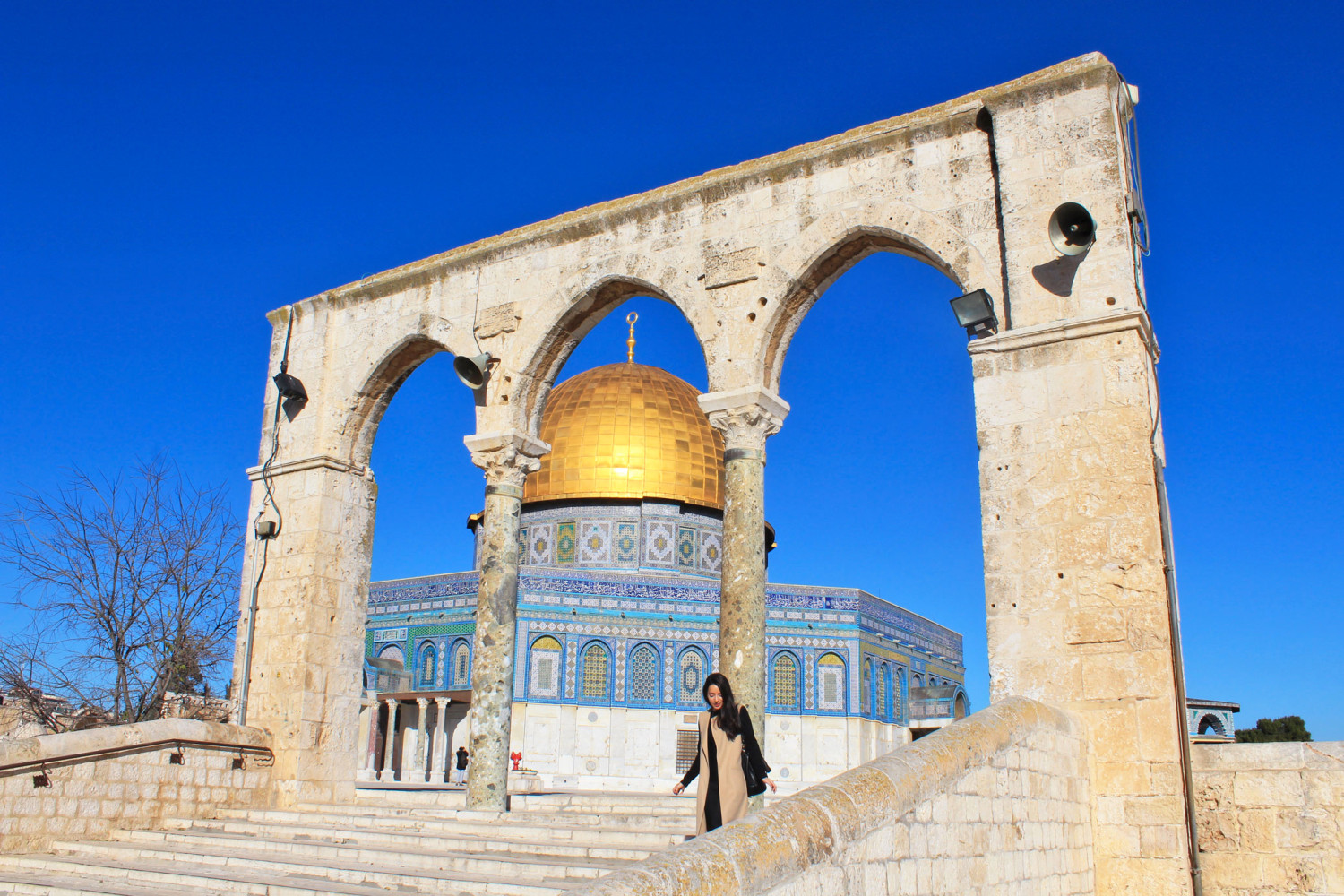 visiting jerusalem things to do temple dome