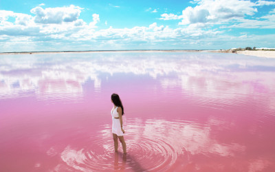 LAS COLORADAS: THE WONDERFUL PINK LAKES OF MEXICO