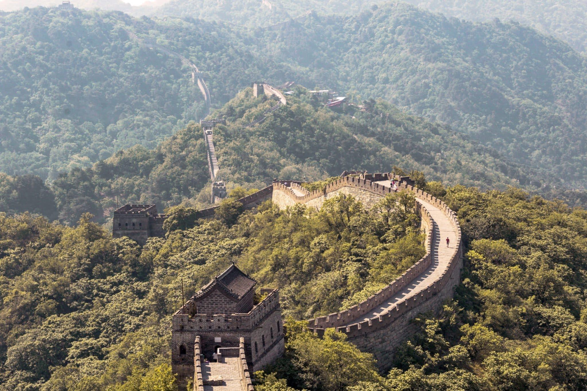 Visit Great Wall of China without crowds Mutianyu
