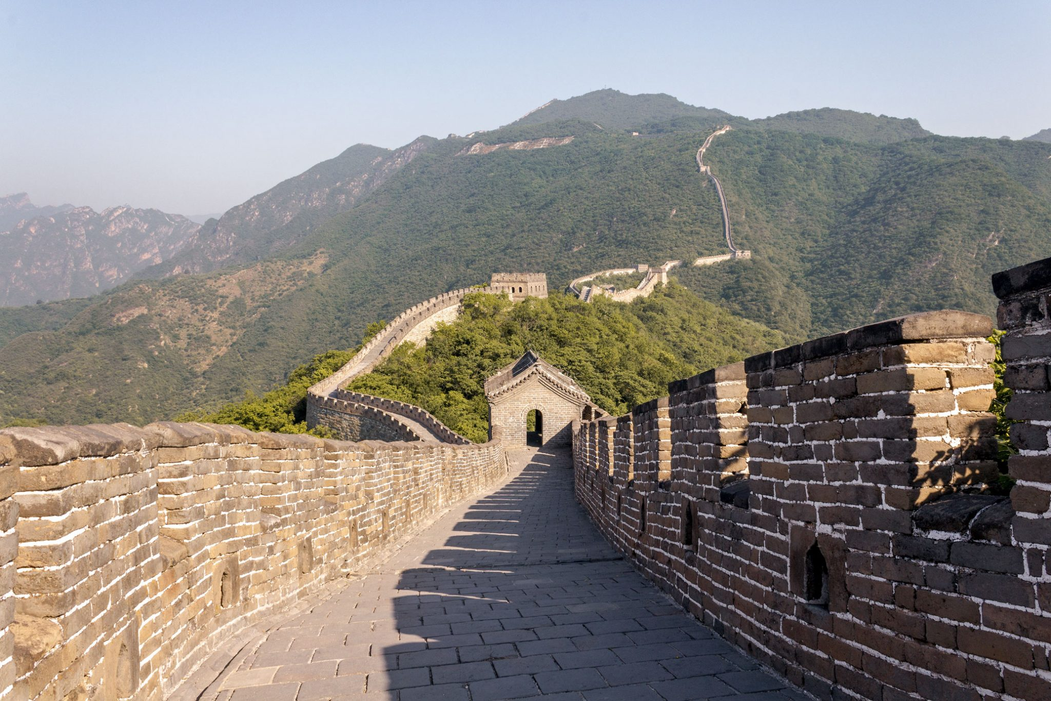 How To Visit The Great Wall Of China Without The Crowds Green And Turquoise