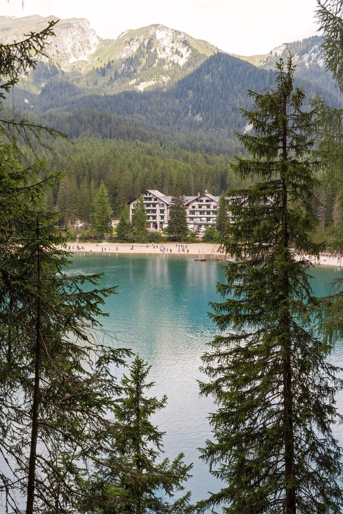 visit Lake Braies Pragser Wildsee hotel travel guide trip