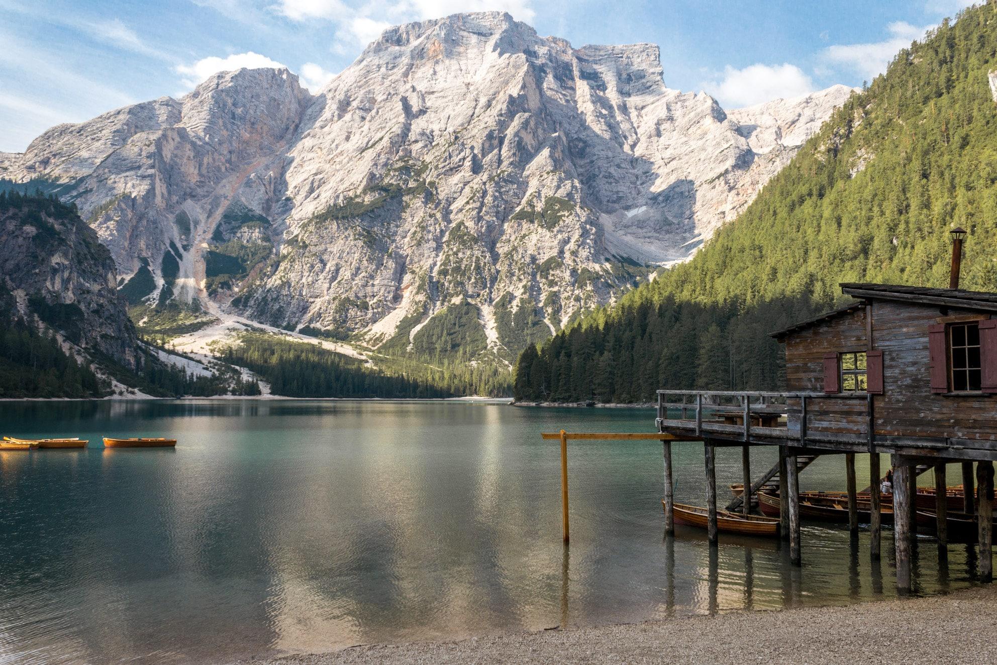 visit Lake Braies Pragser Wildsee travel guide trip