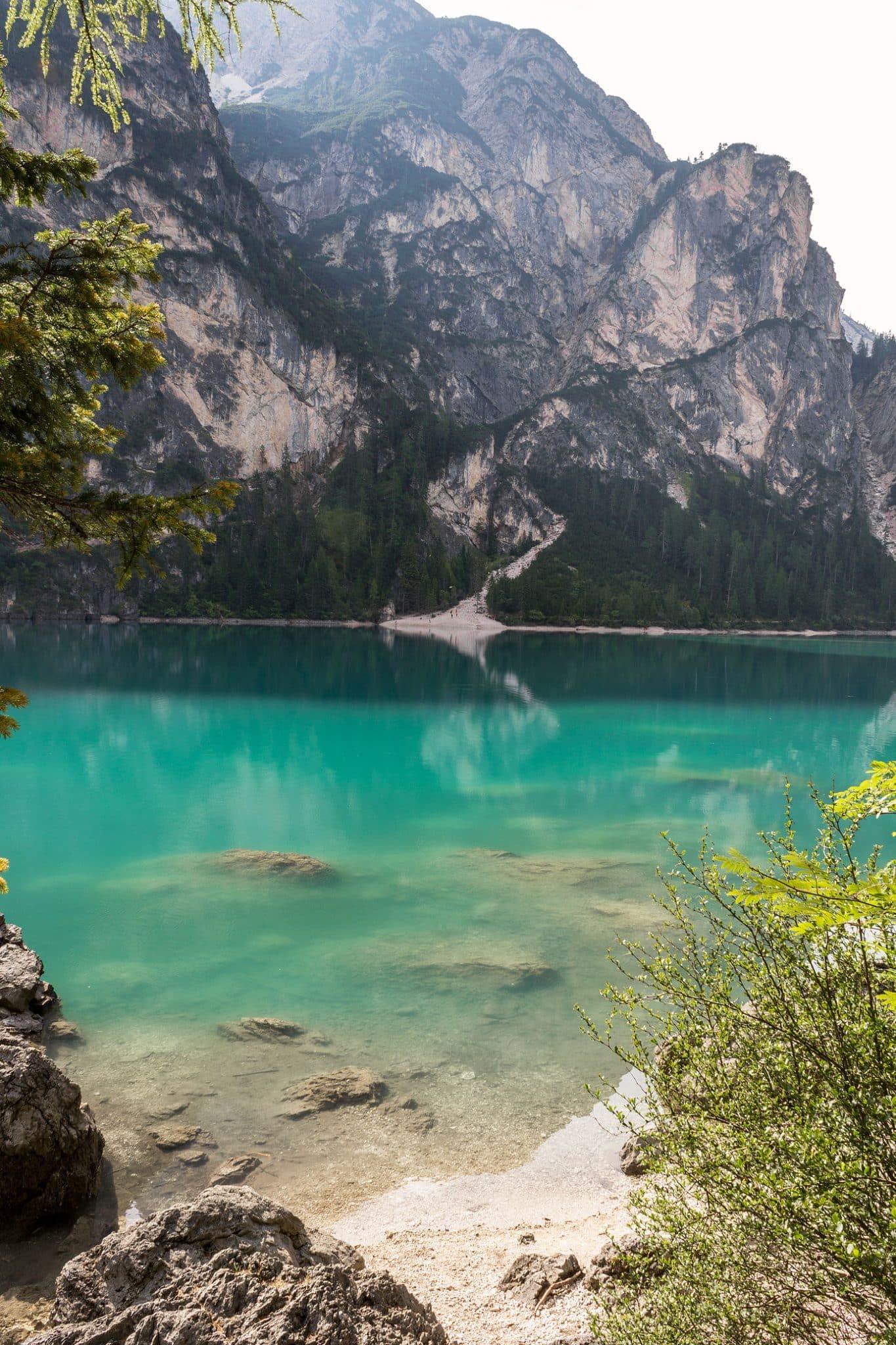 visit Lake Braies Pragser Wildsee travel guide trip blue