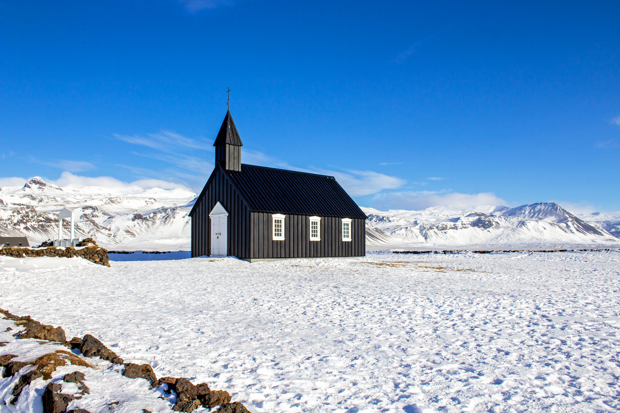 why visit Iceland budir black church