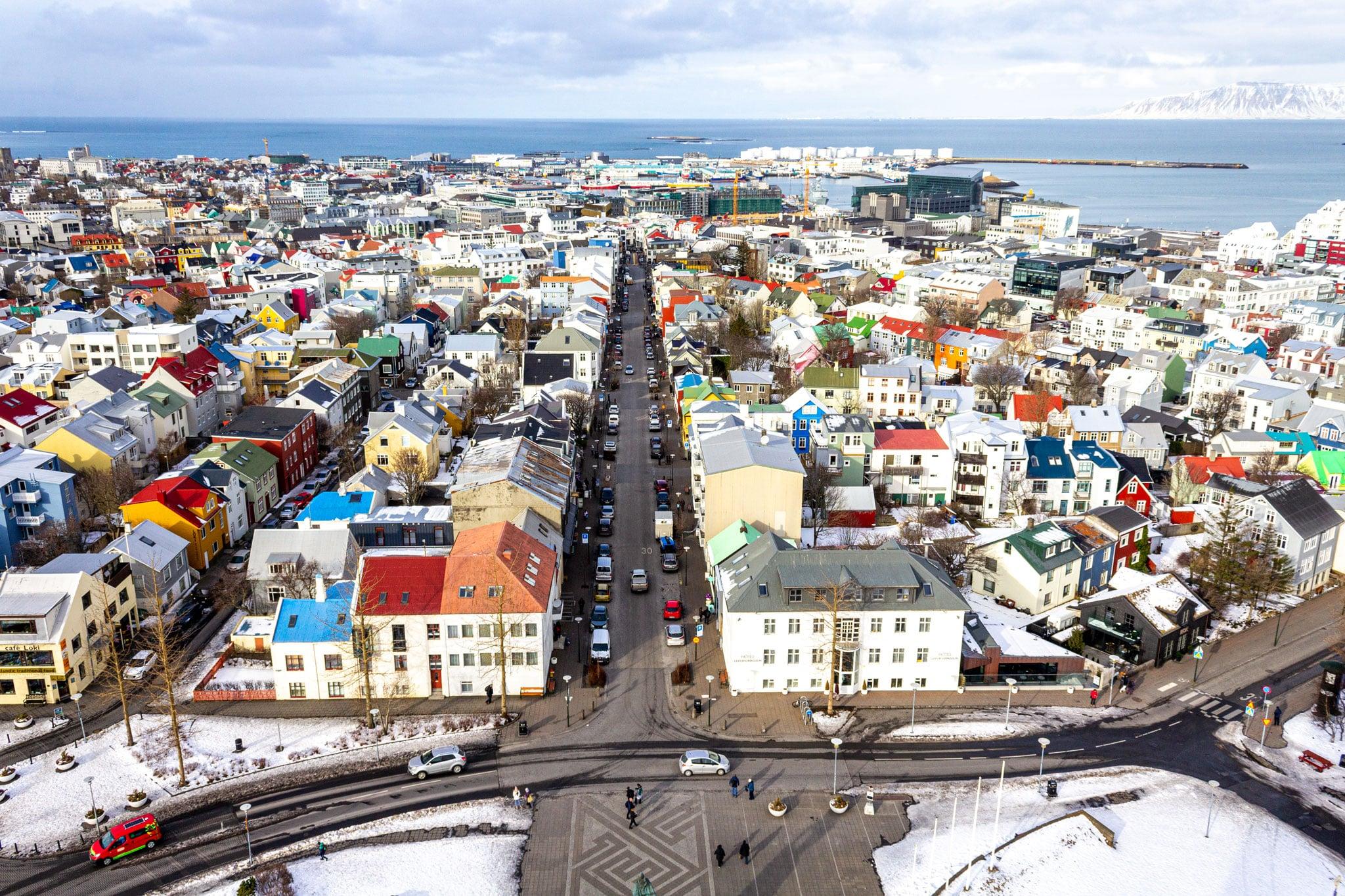 iceland 7 day itinerary reykjavik