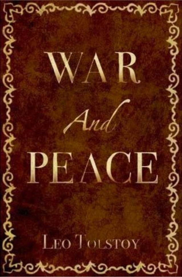 best books war and piece