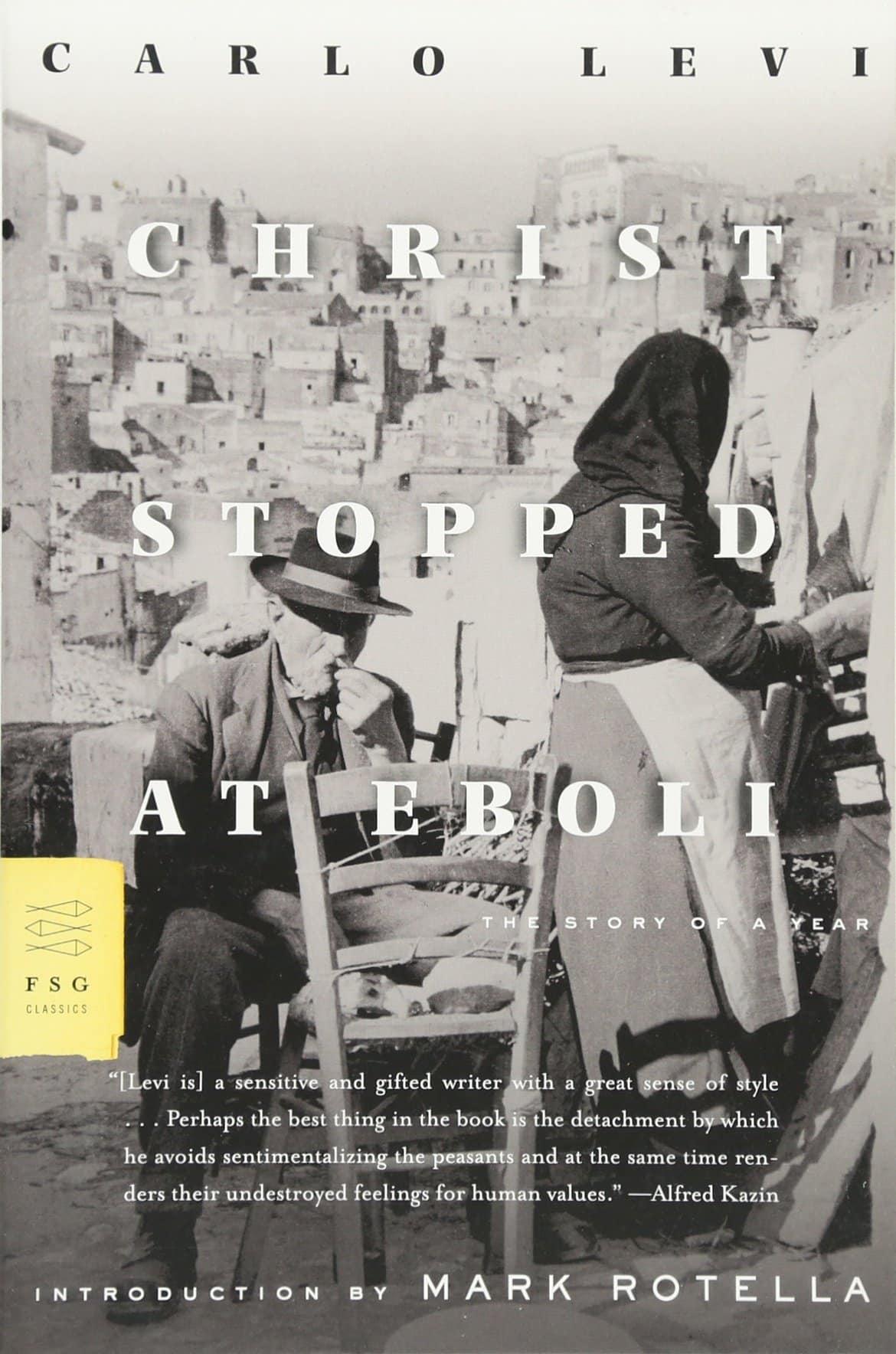 christ stopped at eboli levi italy