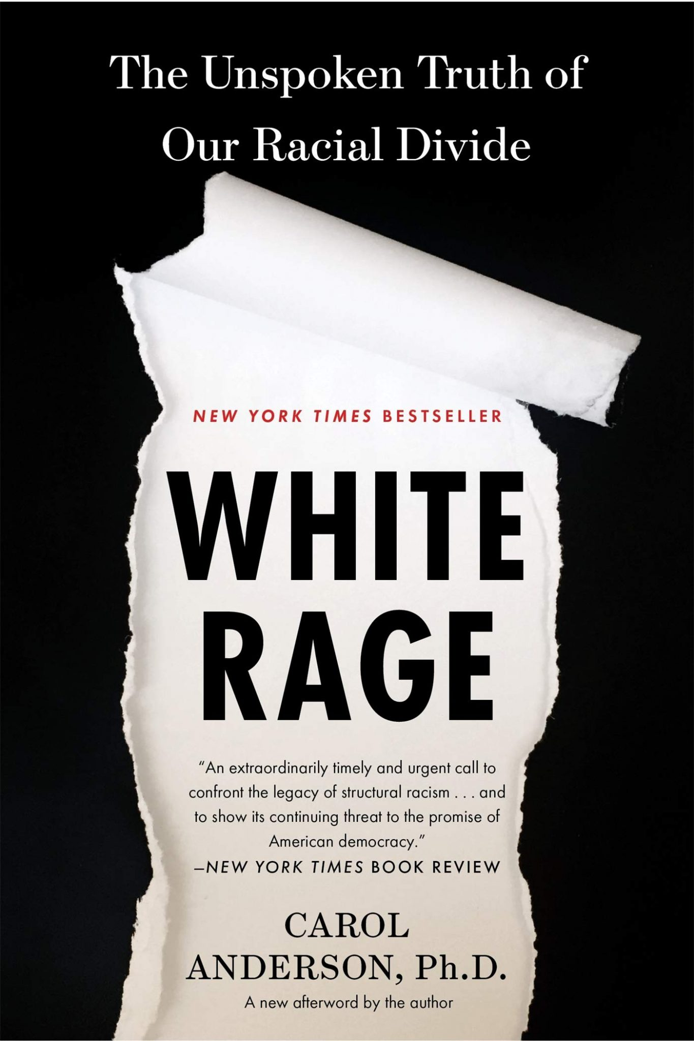 white rage books about racism