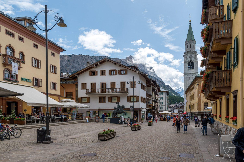 Cortina Dolomites Italy
