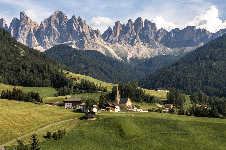 Visit Dolomites Italy Funes Villnoss