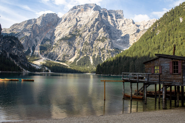 Lake Braies Dolomites Italy