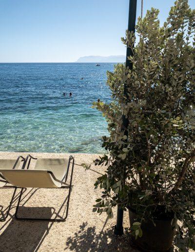 Scopello Sicily deckchair