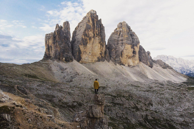 Tre Cime di Lavaredo Dolomites Italy