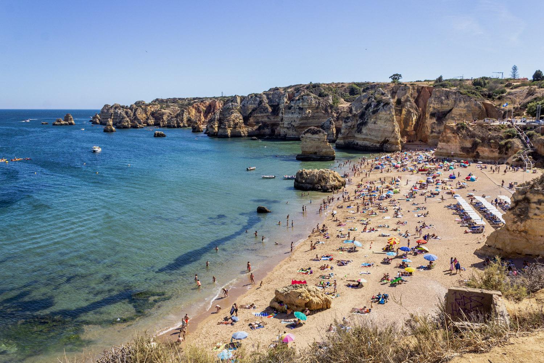 best beaches portugal algarve