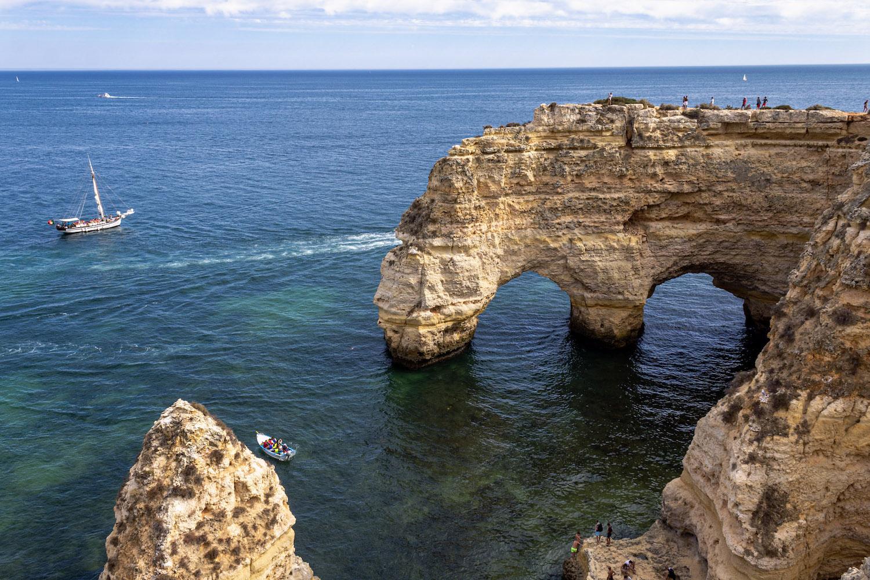 heart rock marinha best beaches in portugal algarve