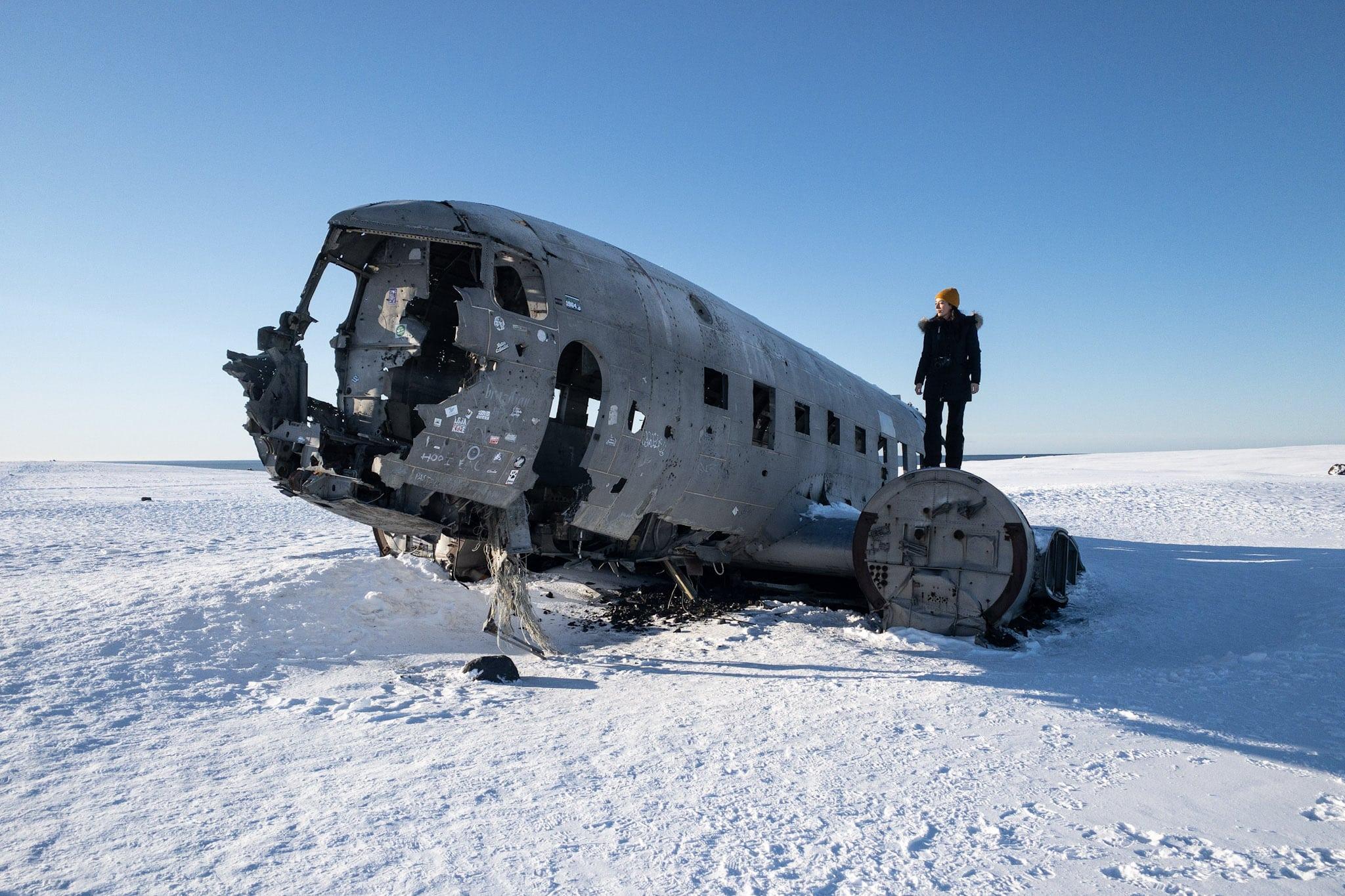 Iceland Sólheimasandur-Plane Wreck Photography