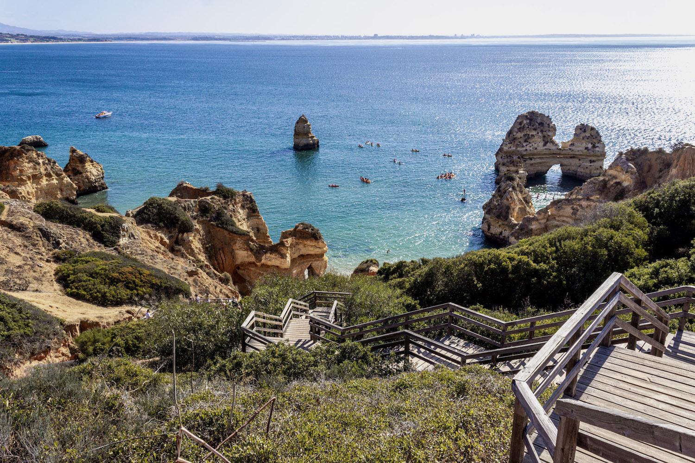 praia camilo best beaches portugal algarve