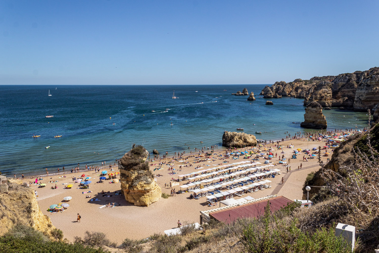 praia dona ana best beaches in portugal algarve