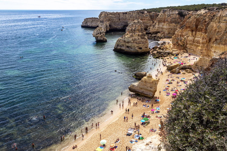 praia marinha best beaches in portugal algarve